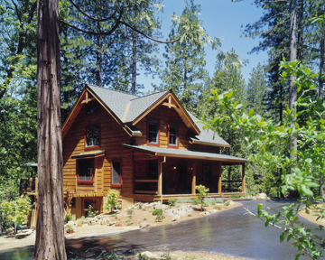 Timberhaven log home design, log home floor plan, Beck, Elevation