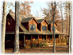 Timberhaven log home design, log home floor plan, Petraits, Elevation